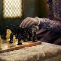 Renaissance Lady Playing Chess by Jill Battaglia