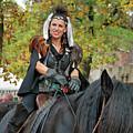Renaissance Rider by Teresa Blanton