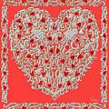 Renaissance Style Heart by Lise Winne