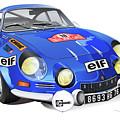 Alpine Renault A110 by Alain Jamar