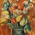 Renoir: Bouquet Of Tulips by Granger
