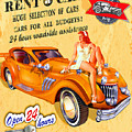 Rent A Car by Don Kuing