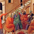 Renunciation Of Peter 1311 by Duccio
