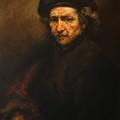 Replica Of Rembrandt's Self-portrait by Tigran Ghulyan