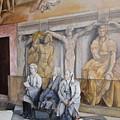 Reposo En El Vaticano by Tomas Castano