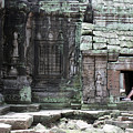 Reprieve At Ta Prohm by John Meader