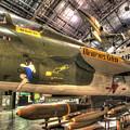 Republic F-105 Thunderchief by Greg Hager