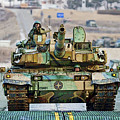 Republic Of Korea K2 Black Panther Tank by Herb Paynter
