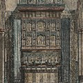 Reredos Chapel Of Aukland Castle 1884 by Dodgson Fowler