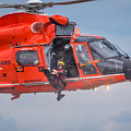 Rescue Swimmer Jumps From Helicopter by Gregory Daley  MPSA