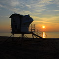 Rescue Tower Sunrise by Zachary Liaros