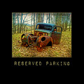 Reserved Parking Vintage Truck by Christina VanGinkel