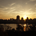 Reservoir Sunrise by Ariane Moshayedi