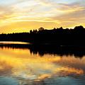 Reservoir Sunset 1 by Kevin Myron