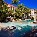 Resort Pool by Darren Burton