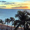 Resort Sunset by Nicole I Hamilton