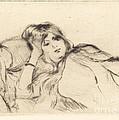 Rest by Berthe Morisot
