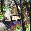 Rest In The Garden by Karin Everhart