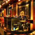 Restaurant Interior 1 by Charuhas Images