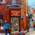Restaurant John Montreal by Carole Spandau