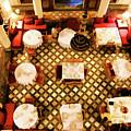 Restaurant Palais Des Merinides Fes Morocco Paint  by Chuck Kuhn