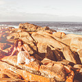Resting On A Cliff Near The Ocean by Jorgo Photography - Wall Art Gallery