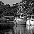 Resting Shrimp Boats by Michael Thomas