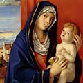 Restored Old Master Madonna And Child  by Mark Higgins