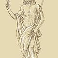 Resurrected Jesus Christ by Aloysius Patrimonio
