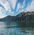Resurrection Bay, Kenai Fjords National Park In Alaska by Brenda Jacobs