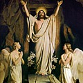 Resurrection by Carl Heinrich Bloch