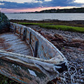 Retired Boat, Harpswell, Maine #252437 by John Bald