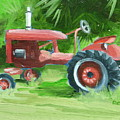 Retired Farmall by Robert Rohrich
