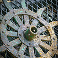 Retired Plow Wheel by My Angle On It Photography