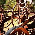 Retired Wheels by Carol Groenen