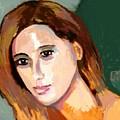 Retrato Patricia by Carlos Camus
