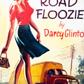 Retro 1950s Book Cover Floozie Bimbo Old School Nympho by Jonathan Malory
