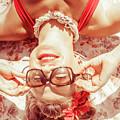 Retro 50s Beach Pinup Girl by Jorgo Photography - Wall Art Gallery