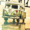 Retro 60s Toy Van by Jorgo Photography - Wall Art Gallery