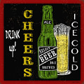 Retro Beer Sign-jp2915 by Jean Plout