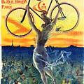 Retro Bicycle Ad 1898 by Padre Art