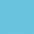 Retro Blue Pattern by Alejandra Ortega