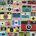 Retro Camera Pattern by Setsiri Silapasuwanchai