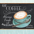 Retro Coffee 1 by Debbie DeWitt