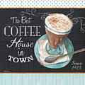 Retro Coffee 2 by Debbie DeWitt