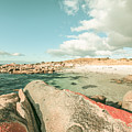 Retro Filtered Beach Background by Jorgo Photography - Wall Art Gallery