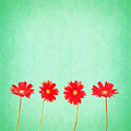 Retro Flowers by Delphimages Photo Creations