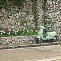 Retro Italian Scooter by Catherine Reading
