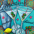 Retro Martini by Lisa  Lorenz
