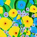 Retro Meadow by Linda Rauch